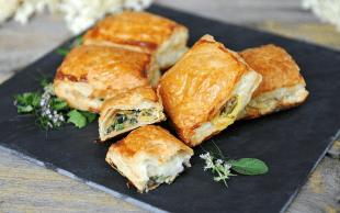- tulum peynirli kabak boregi 1 - Tulum Peynirli Ramazan Böreği
