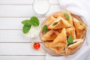 tulum peynirli börek - enka2 - Şafak Tulum Peynirli Ispanaklı Börek tarifi!